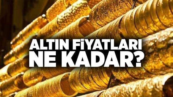 Samsun'da altın fiyatları ne kadar? 15 Eylül Pazar güncel altın fiyatları