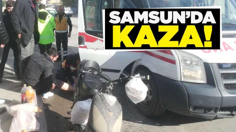 Samsun'da kaza!
