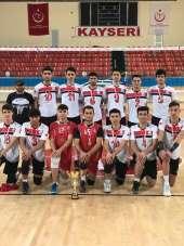 Melikgazi Belediyespor Voleybol Takımı Türkiye Grup Müsabakası Yolunda