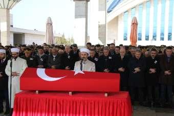Şehit uzman çavuş Ankara'da son yolculuğuna uğurlandı
