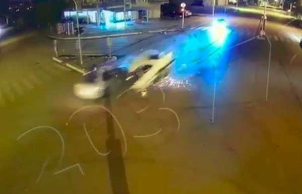 Kumluca'da 3 kişinin öldüğü kazanın görüntüleri ortaya çıktı