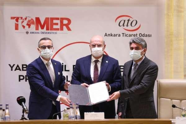 Ankara Ticaret Odası ile TÖMER'den yabancı dil eğitiminde işbirliği