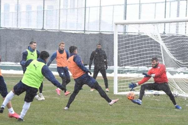 BB Erzurumspor Hatayspor hazırlıklarını sürdürdü