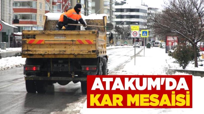 Atakumda karla mücadele