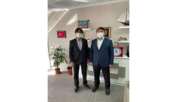 Cizre TSO Başkanı sigorta primleri genel müdürü ile görüştü