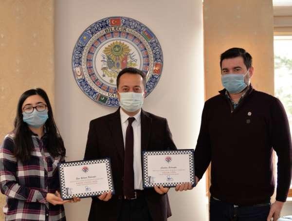Ezgi-Cumhur Babaoğlu'na 'Kadın Ulusal Usta' ve 'Ulusal Usta' unvanları verildi