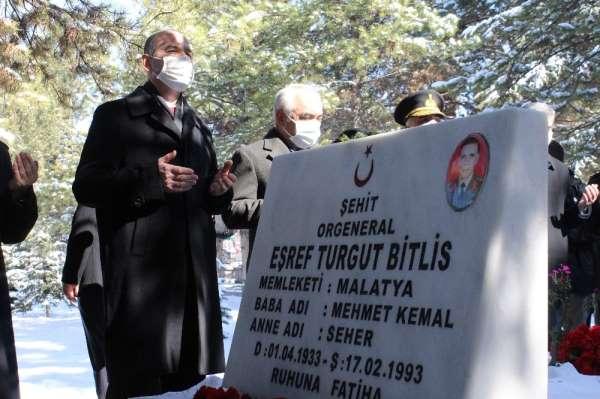 İçişleri Bakanı Soylu, Eşref Bitlisi ve Gara Şehitlerini kabri başında andı
