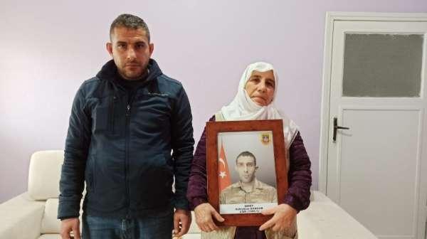 Siirtli şehit ağabeyi Sungur, terör örgütü PKK'ya lanet okudu