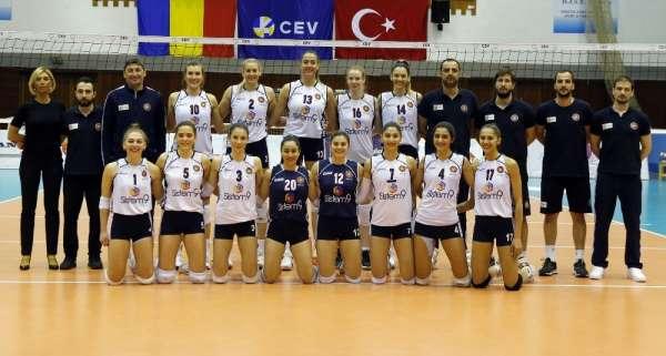 CEV Challenge Kupası Finali: CSM Volei Alba Blaj: 0 - Sistem9 Yeşilyurt: 3