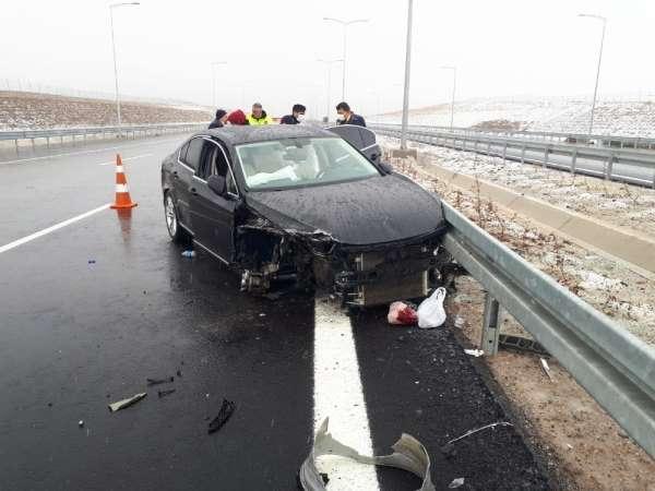 Eski Tarsus Belediye Başkanı Can kaza yaptı
