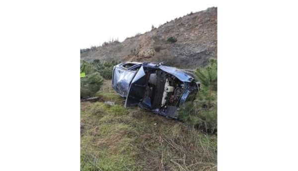 Susurlukta trafik kazası: 1 kişi hayatını kaybetti