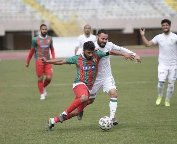 TFF 3. Lig: Karşıyaka: 0 - Çarşambaspor: 0