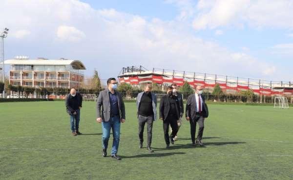Turgutlulu başkanlar spor gündemiyle buluştu