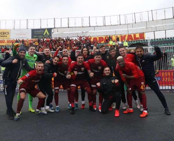 Kayserispor futbola 'Hasret'