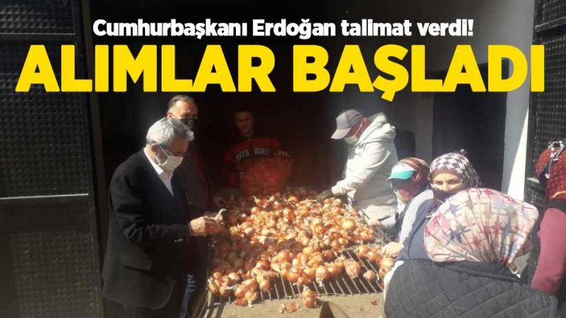 Cumhurbaşkanı Erdoğan talimat verdi! Alımlar başladı