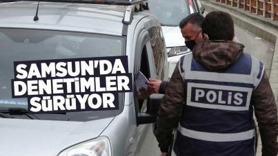 Samsun'da denetimler sürüyor