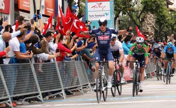 56. Cumhurbaşkanlığı Türkiye Bisiklet Turunda sona gelindi