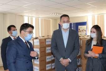 Akkuyu Nükleer AŞ'den Gülnarlılara 500 adet Ramazan paketi
