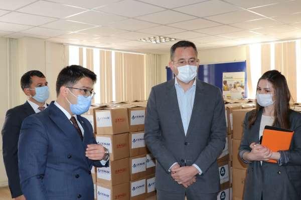 Akkuyu Nükleer A.Ş.den Gülnarlılara 500 adet Ramazan paketi