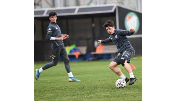 Bursasporda Samsunspor maçı hazırlıkları devam ediyor
