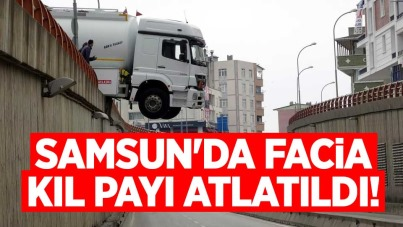 Samsun'da facia kıl payı atlatıldı!