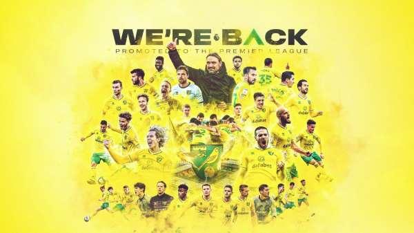 Norwich City, Premier Lige yükseldi