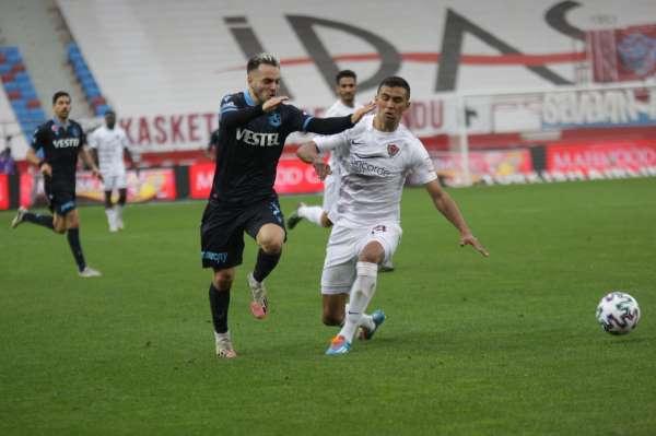 Süper Lig: Trabzonspor: 1 - Atakaş Hatayspor: 1