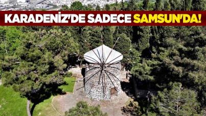 Karadeniz'de sadece Samsun'da!