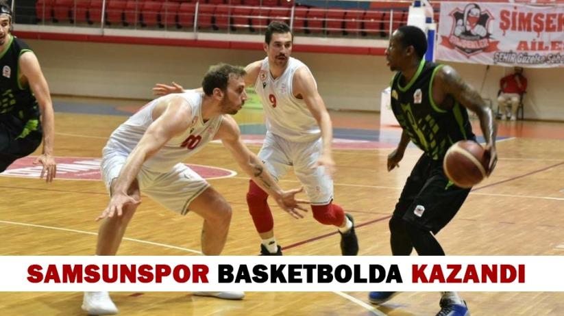 Samsunspor Basketbolda Kazandı