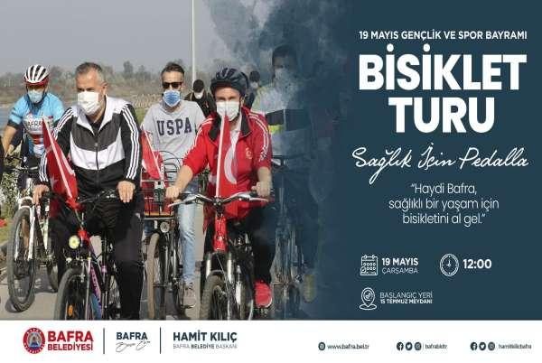 Bafra Belediyesi 19 Mayısta bisiklet turu düzenleyecek