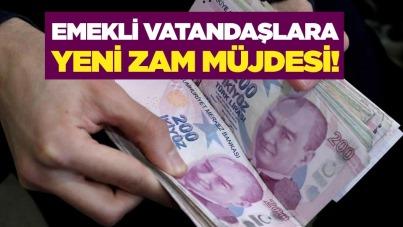 Emekli vatandaşlara yeni zam müjdesi!