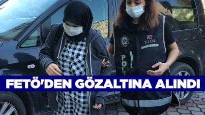 FETÖ'den gözaltına alındı