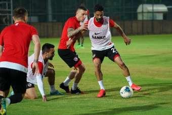Gaziantep FK, Galatasaray maçına hazırlanıyor