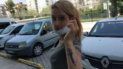 Genç kadın 'hırsızlık' suçundan gözaltına alındı