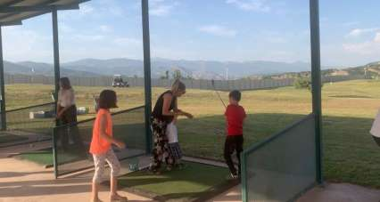 Huzur şehri Tunceli'de golf heyecanı başladı