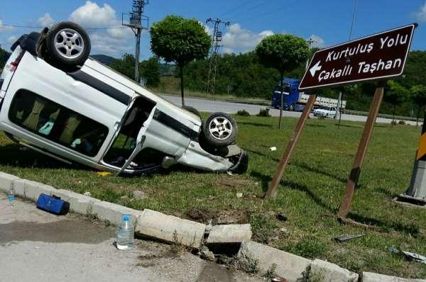 Samsunda trafik kazası: 4 yaralı