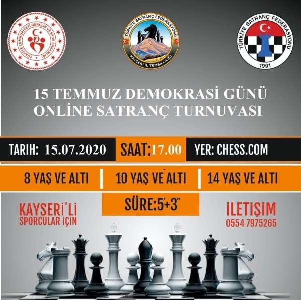 15 Temmuz Demokrasi Günü Online Satranç Turnuvası Tamamlandı