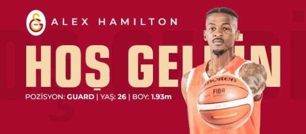 Alex Hamilton Galatasaray Doğa Sigorta'da