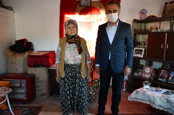 Balıkesirli Şehit Mustafa Baydurun ailesine ziyaret
