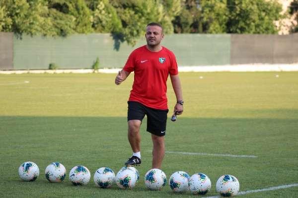 Denizlispor Teknik Direktörü Kartop: 'Alanya maçını kazanıp önümüze bakmak istiy