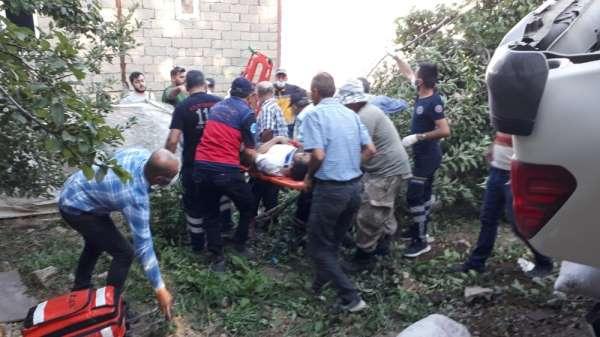 Hakkari'de trafik kazası: 4 yaralı