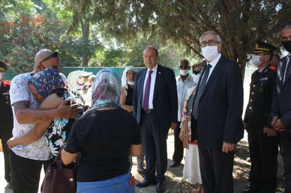 KKTC kayıp şehit 46 yıl sonra son yolculuğuna uğurlandı