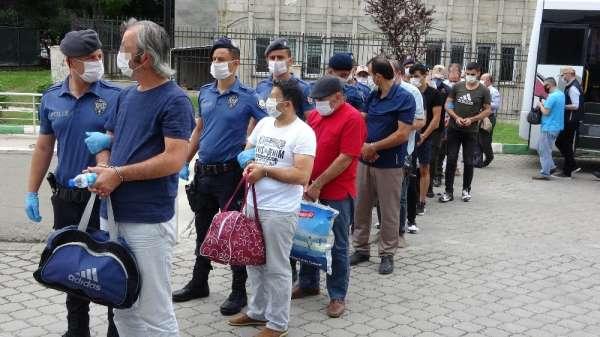 Samsun'da FETÖ'nün yeni yapılanması operasyonunda 35 kişi adliyeye sevk edildi