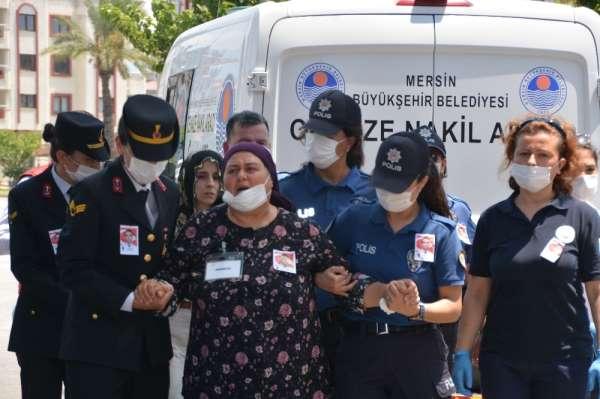 Şehit polis Mersin'de son yolculuğuna uğurlandı