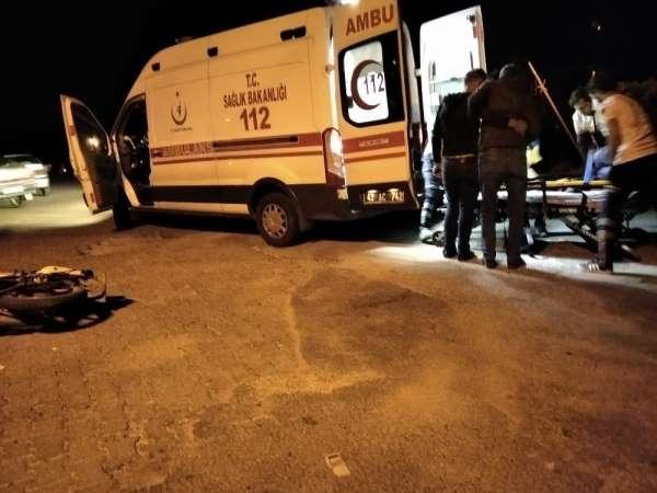 Simav'da trafik kazası: 1 yaralı