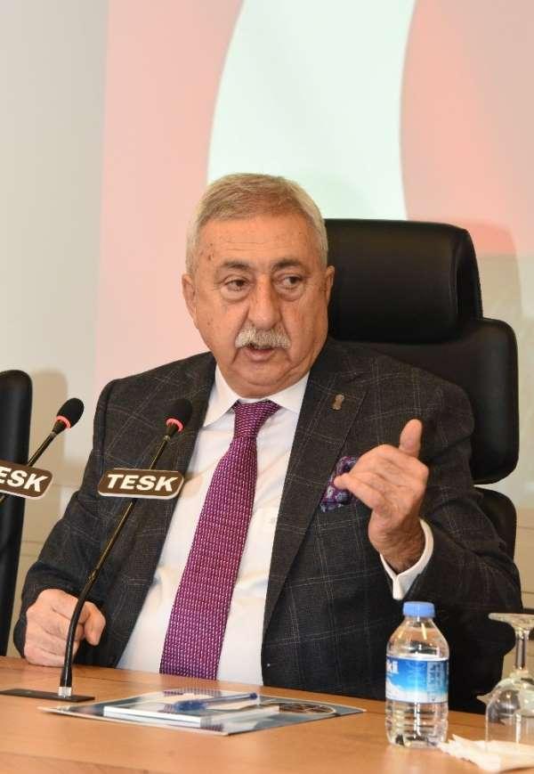 TESK Genel Başkanı Palandöken: 'Gıda ve temizlik ürünlerinden KDV alınmamalı'