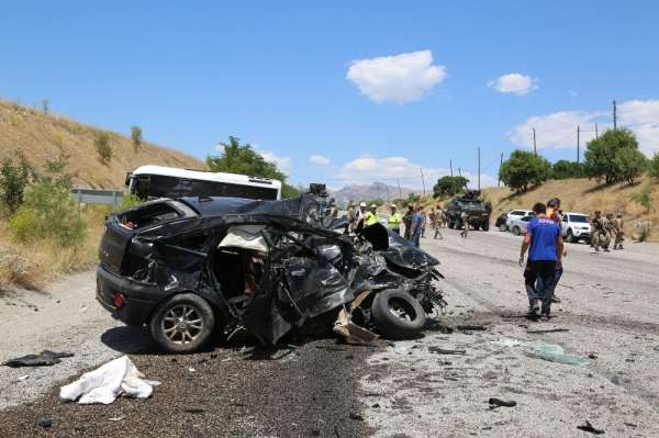 Tunceli'deki kazada anneden sonra 2 yaşındaki Kıvanç ile baba da hayatını kaybet