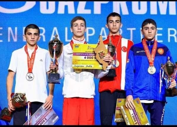 Altındağlı genç sporcu Gürcistandan bronz madalyayla döndü