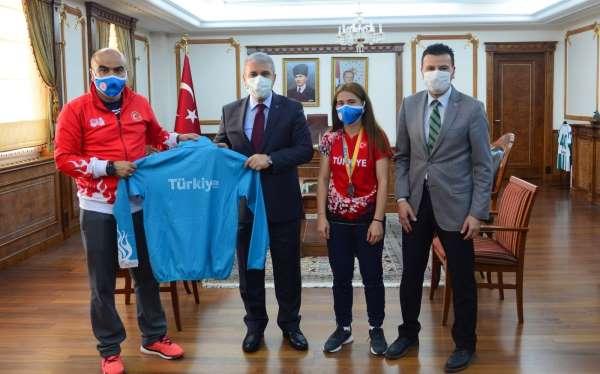 Kırşehirli başarılı sporcu Urkuş, Avrupada ülkemizi temsil edecek