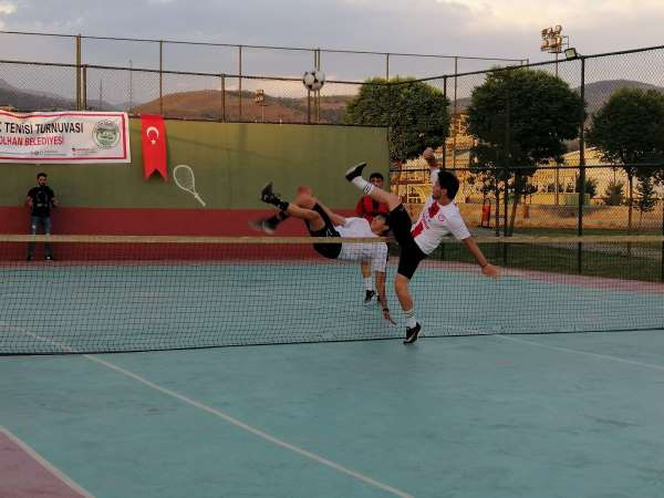 Solhanda Ayak Tenisi Turnuvası düzenlendi